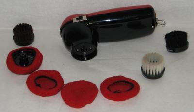 1996-032-003; brush; shoe