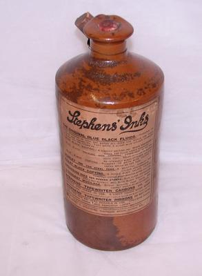 1997-048-018; ink bottle