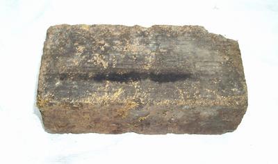 1985-007-010; brick; refractory