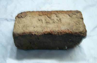 1985-007-027; brick; refractory