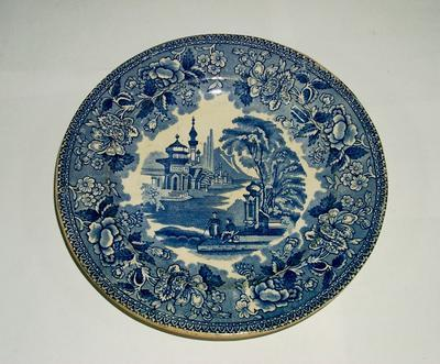 1977-002-387; plate; meat