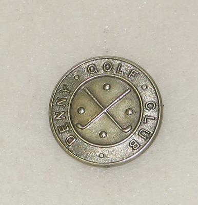 1991-041-001; badge; golf