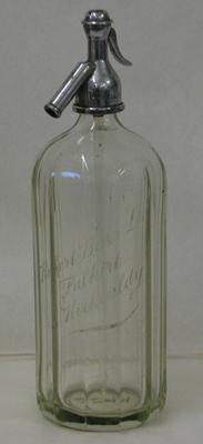 1987-099-001; soda syphon (A.G. Barr)