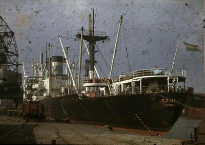 P44577; Ship 'Campero' at Grangemouth docks