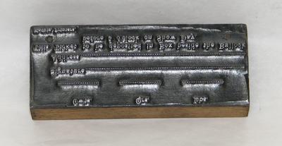 1977-049-009; printing block