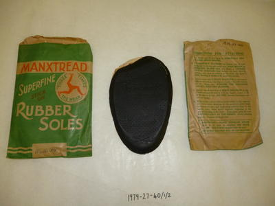 1979-027-040; sole; rubber