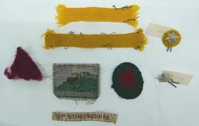 """2001-018-003; badges; """"Cub Scout"""""""