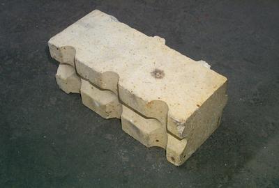 2001-083-008; brick; refractory