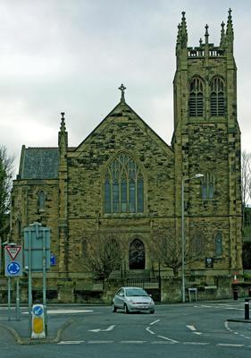P45499; Exterior of Erskine Parish Church
