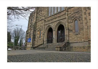 P45501; Exterior of Erskine Parish Church