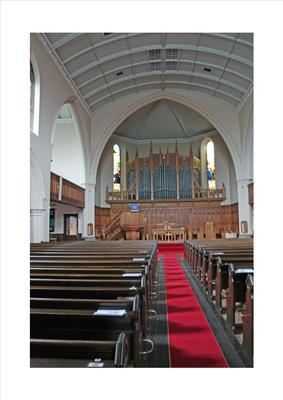 P45503; Interior of Erskine Parish Church