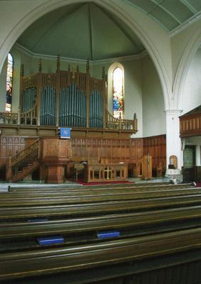 P45504; Interior of Erskine Parish Church