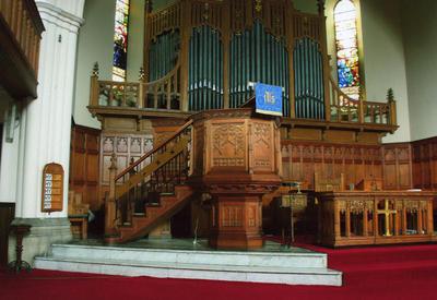 P45505; Interior of Erskine Parish Church