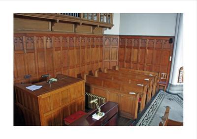 P45506; Interior of Erskine Parish Church