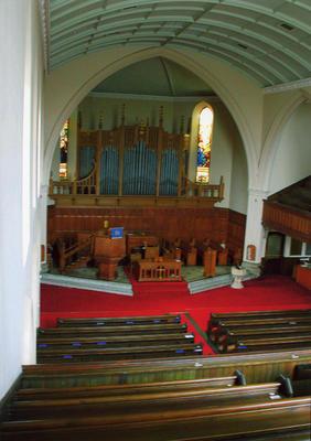 P45508; Interior of Erskine Parish Church