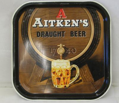 1993-029-001; tray; Aitken's
