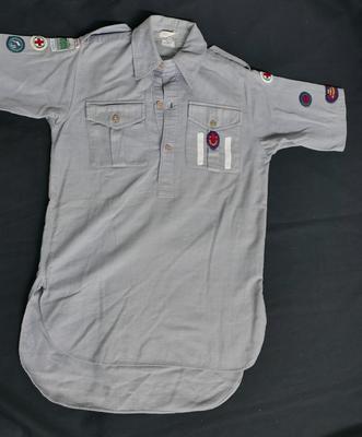 2002-015-001; shirt; man's (Air Scout)