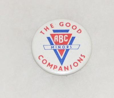 "2003-049-001; badge; ""ABC Minors"""