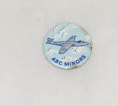 "2003-049-002; badge; ""ABC Minors"""