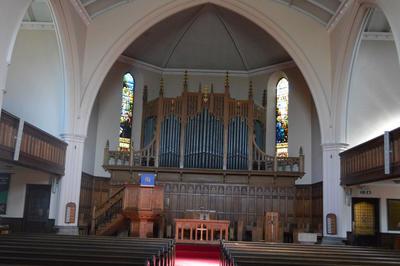 P45733; Interior of Erskine Parish Church