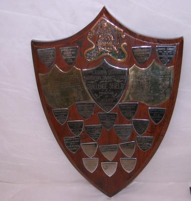 "1993-004-001; trophy; ""Shields Challenge"""