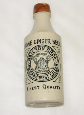 1991-032-001; bottle; ginger beer (Neilson Bros)