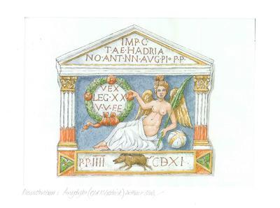 "2000-033-008; drawing; ""Old Kilpatrick distance tablet"""