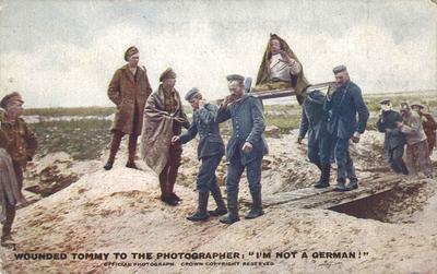 P45916; First World War picture postcard