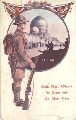 P45919; First World War picture postcard