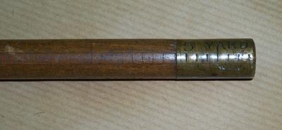 2005-023-001; yard stick
