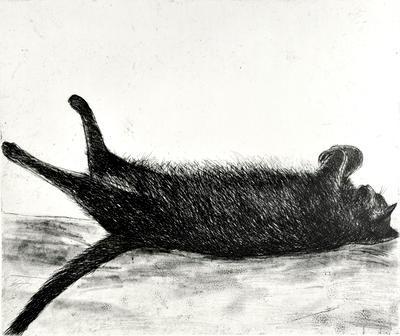 """2005-016-009; print; """"Amalia Sleeping"""""""