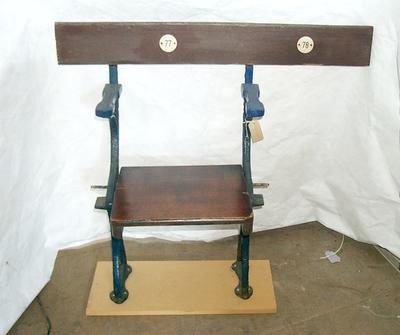 2005-037-001; seat; Brockville