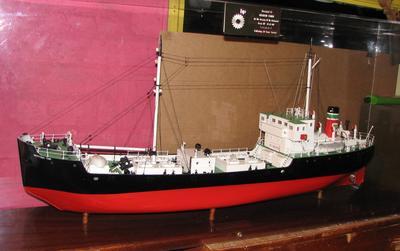 2007-002-001; model; oil tanker
