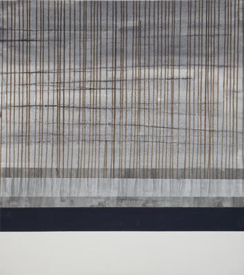 "2006-007-001; painting; ""Dark Lines 4"""