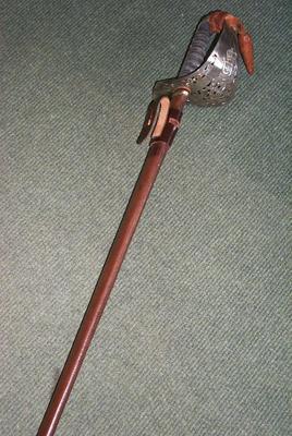 2007-015-008; sword; presentation