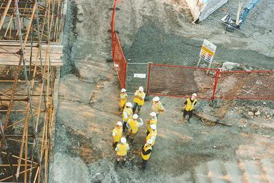 P41669; Construction of the Falkirk Wheel