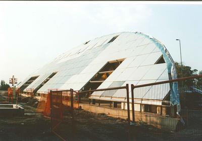 P41672; Construction of the Falkirk Wheel
