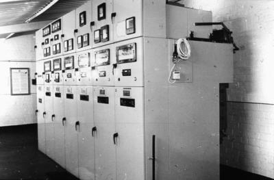 P00898; Control panel, Carrongrove Mill, Denny