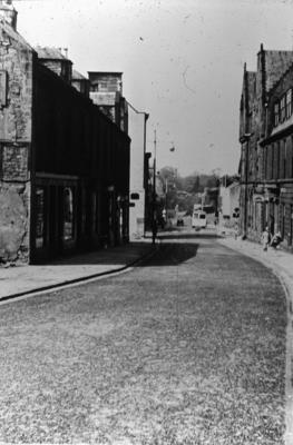 P02368; Replacing the cobbles, High Street, Falkirk