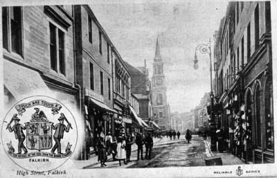 "P03789; ""High Street, Falkirk"""