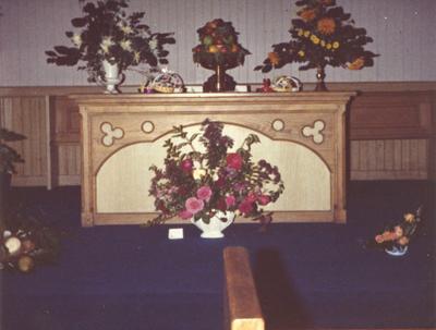 P45927; Blackbraes Church Flower Festival