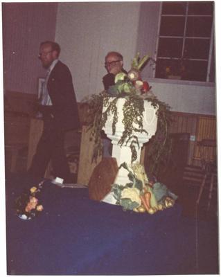 P45928; Blackbraes Church Flower Festival