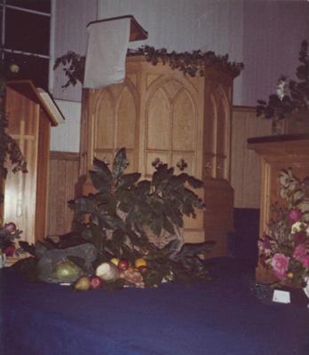 P45929; Blackbraes Church Flower Festival