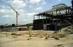 Callendar Square, Falkirk and Car Park during construction