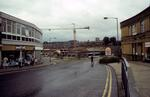 Cockburn St during construction of Howgate Shopping Centre
