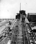 Castlecary fireclay mine bogey tracks