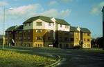 Corner flats, Bairns Ford Ave, New Carron Village