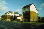 Corner flats, Bairns Ford Ave, New Carron Village