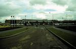Carron Co-op & Ronades Rd from Granary Rd, New Carron Village