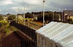 Camelon Railway Station during construction
